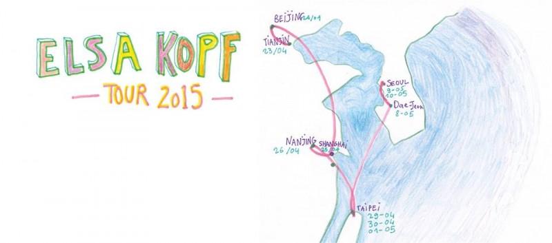 Elsa kopf tour 2015